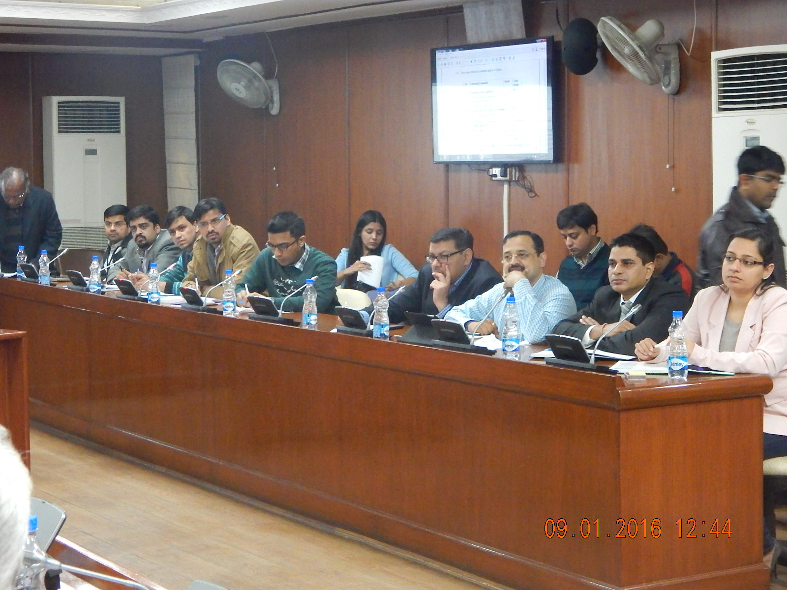 Pre-Qualification Conference held on 9th Jan 2016, at MoWR, RD & GR Conference Room