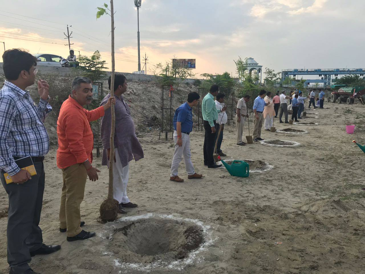 On day 4 of Ganga Vriksharopan Abhiyan 2018, plantation activities was carried out in Uttarkashi and Haridwar (Uttarakhand) Hardoi, Kanpur and Farrukhabad (Uttar Pradesh).